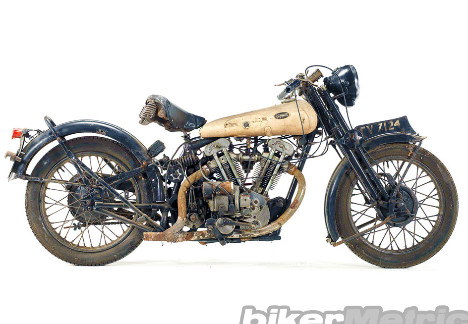 Vintage Bike Of The Day 1932 Brough Superior Black Alpine 680
