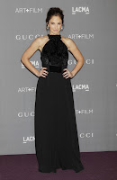 Minka Kelly  at 2012 LACMA Art+Film Gala red carpet