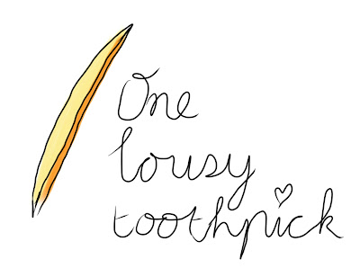 one lousy toothpick