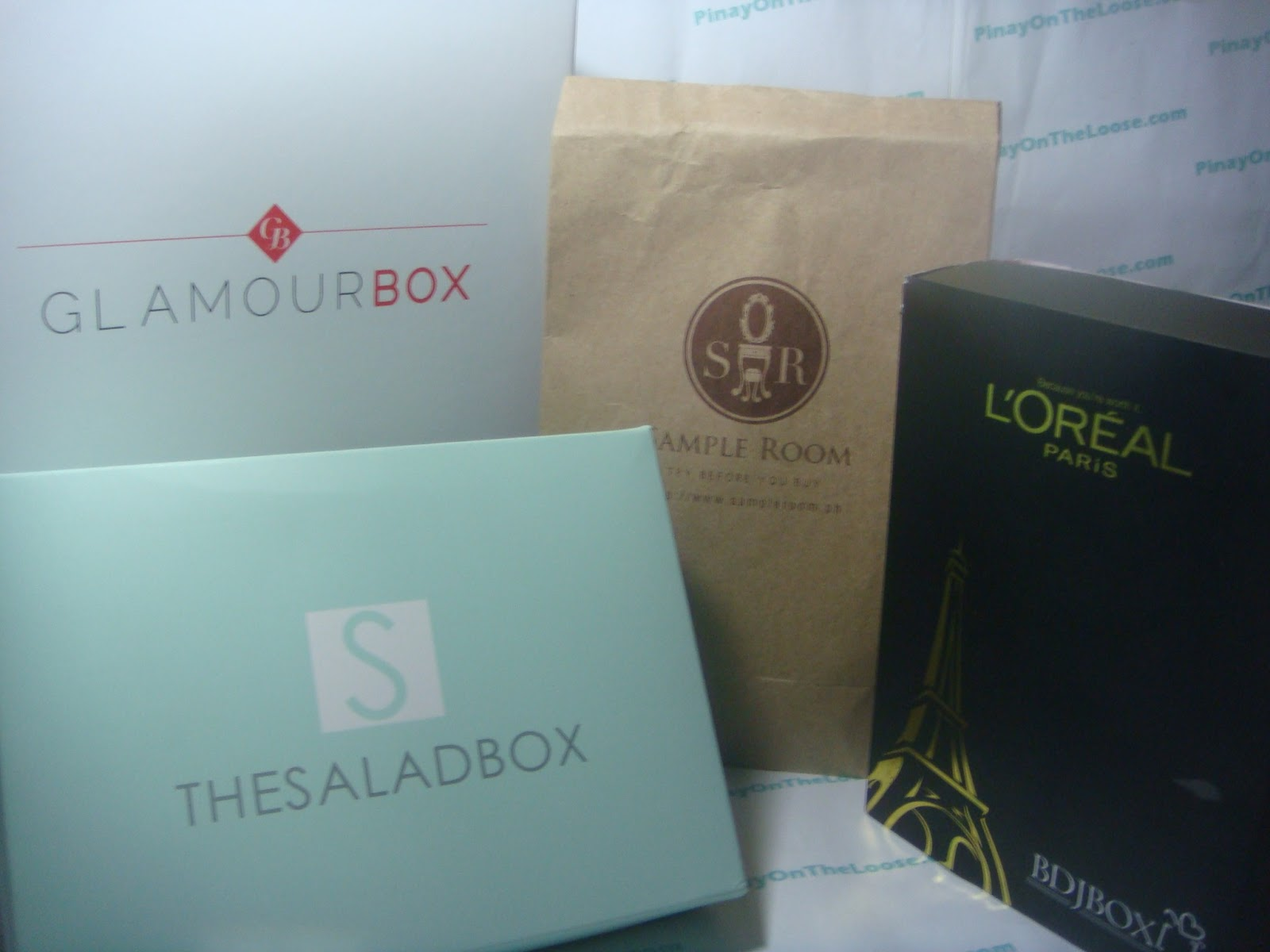 Pinay on the Loose: Monthly Subscription Boxes & Sampling Sites
