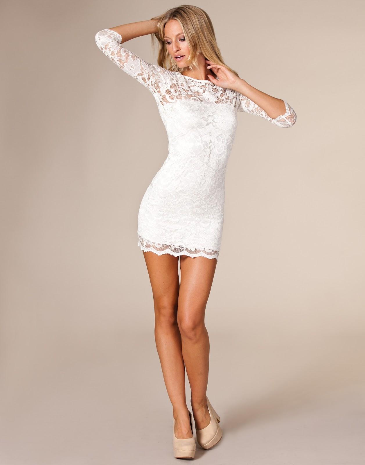 Zapatos para vestido blanco de encaje