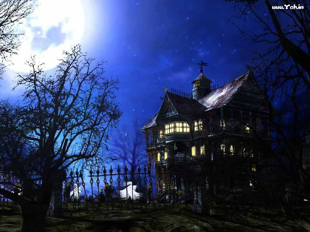 Haunted house hd wallpapers hd wallpapers pics for Wallpaper with houses