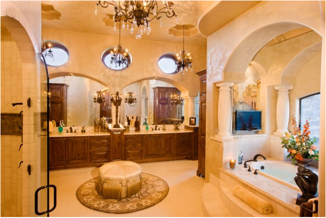 Tuscan bathroom design ideas room design ideas for Tuscan design ideas