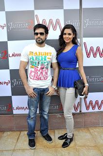 Emraan Hashmi and Esha Gupta promote 'Jannat 2'