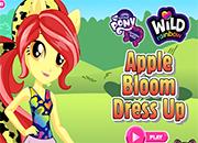Apple Bloom Wild Rainbow Style