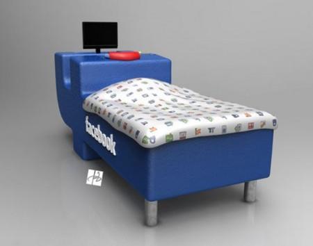 Desain Tempat Tidur Unik Khusus Facebooker by DevianTom