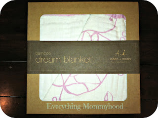 Aden + Anais Dream Blanket #Giveaway