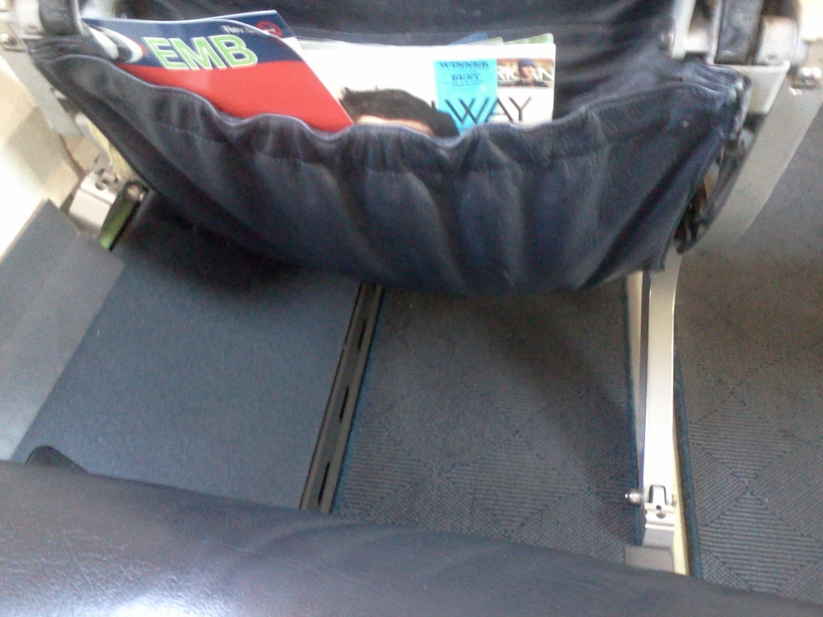 Carry On Items Such As BookBags, Purses, Computer Bags Must Be Able to Fit Underneath The Seat In Front of You