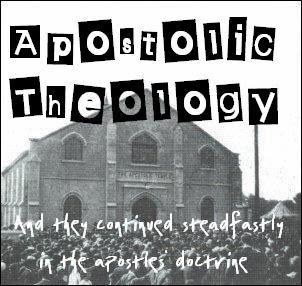 Apostolic Theology