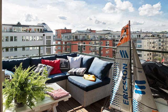 bancos terraza
