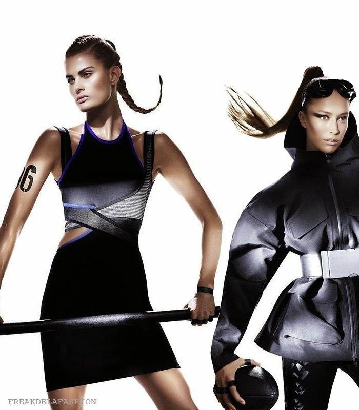 Alexander Wang x H&M | Mikael Jansson | april werner| freakdelafashion | fdlf