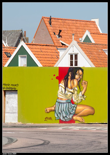 Volendam, Graffiti (Street Art)