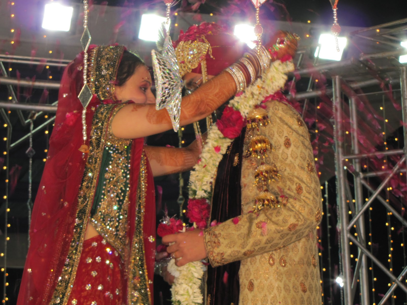 From saris to safaris: An Indian Wedding