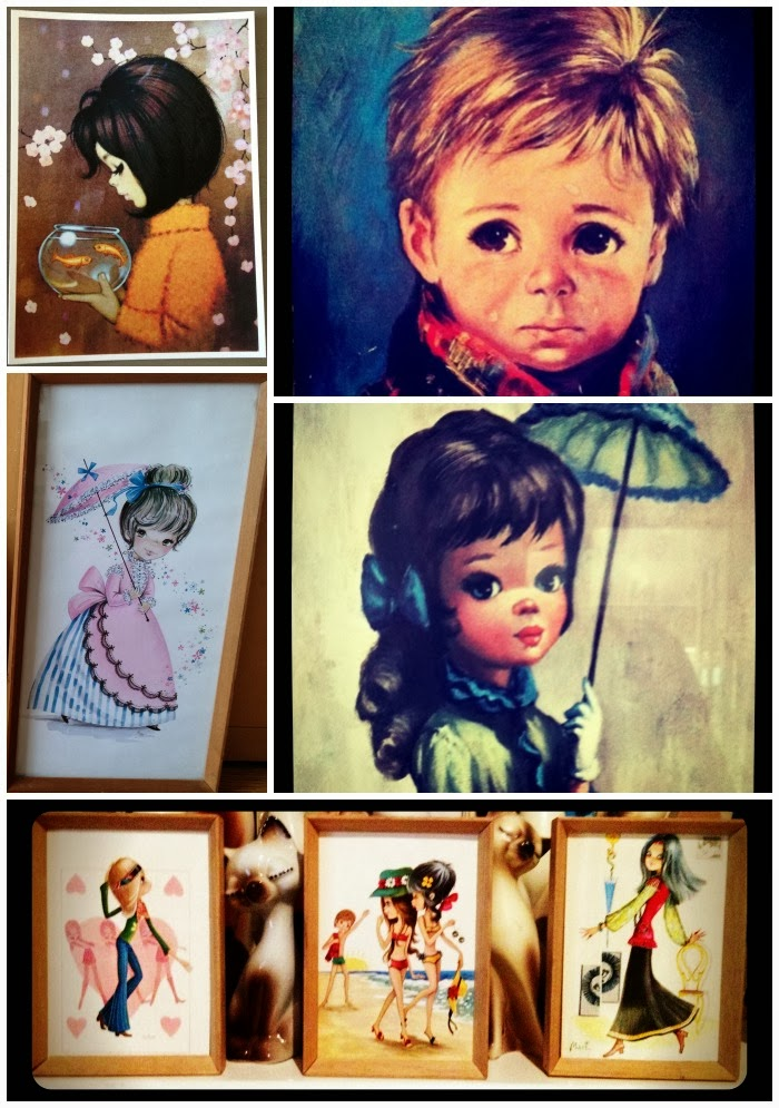 Vintage Big Eye Art Collection Geekisnewchic_6