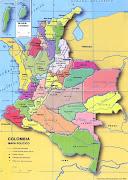 PZ C: mapa de colombia (colombia)