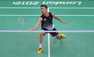 Datuk Lee Chong Wei ke Separuh Akhir Badminton Olimpik London 2012