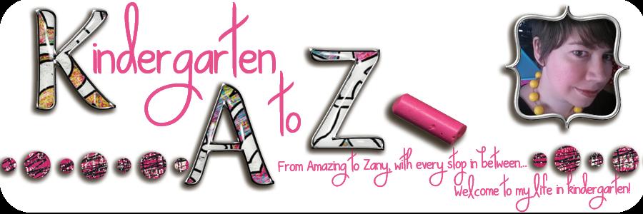 Kindergarten A to Z
