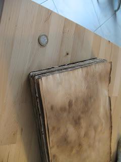 Grimoire : Vieillir du papier