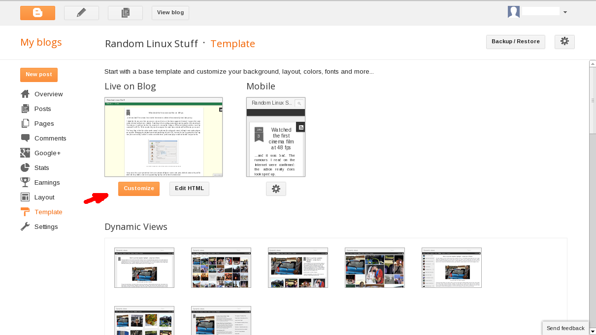 Workaround For The Blogger Template Designer Bug Which Prevents It