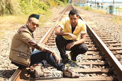 Jazzy B and Gippy Grewal Still - Best Of Luck