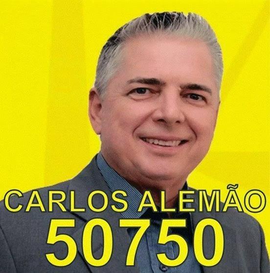 Carlos alemão candidato para Deputado Federal pelo Estado de São Paulo