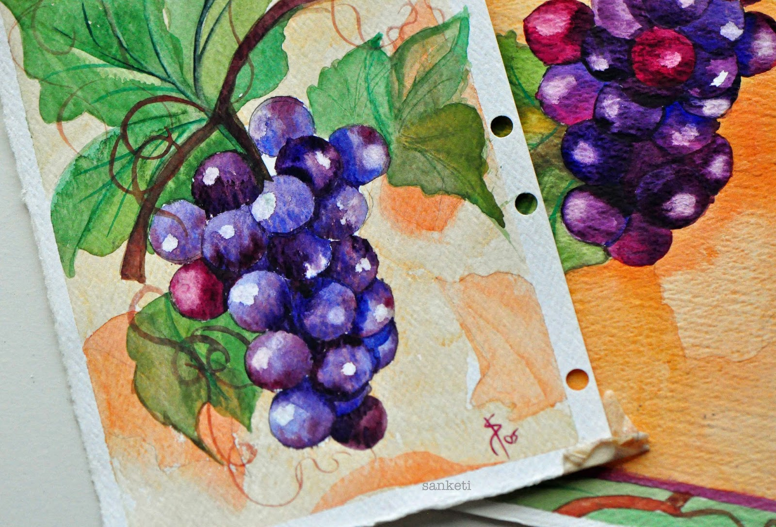 Watercolor books for beginners - Composition Taken From The Step By Step Book Wonderful Watercolors With Paul Brent