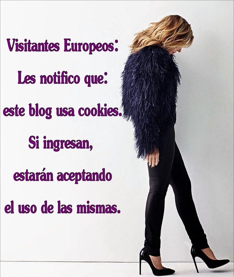Ley Europea sobre uso de cookies