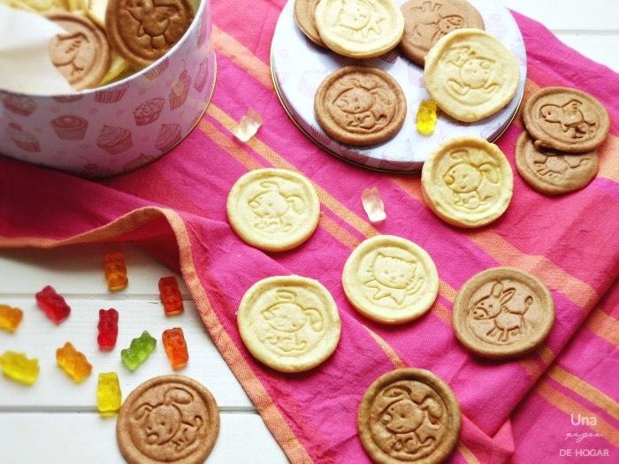 Galletas caseras de mantequilla y de chocolate   (v�deo receta)