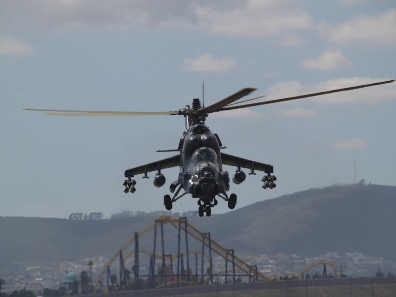 Mi-24 Super Hind Attack Helicopter