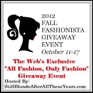 Fall Fashionista Event Logo