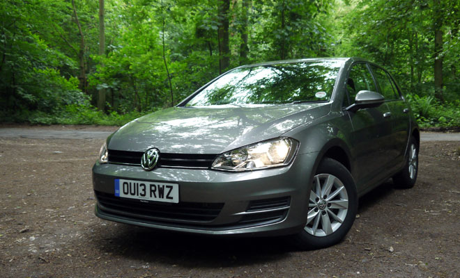 VW Golf 7 S 1.2 TSI DSG front view