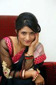 Nidhi Natuiyal Glamorous Photos in Saree-thumbnail-13