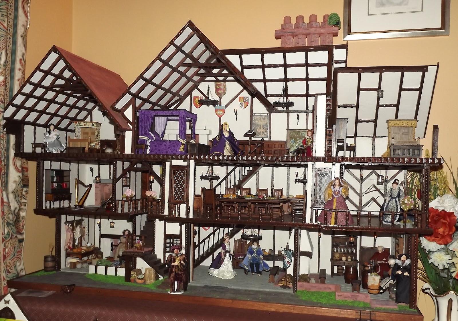 Karen's Tudor Dolls House
