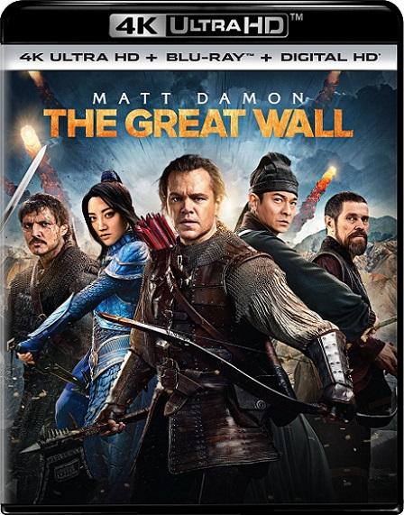 The Great Wall 4K (La Gran Muralla 4K) (2016) 2160p 4K UltraHD HDR REMUX 54GB mkv Dual Audio Dolby TrueHD ATMOS 7.1 ch