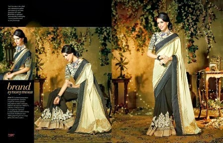 Simple and Decent Saree Design