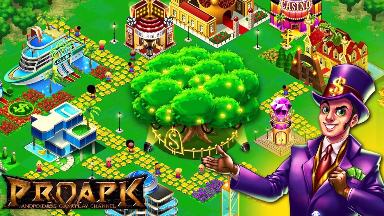 Money Tree City - Town Builder