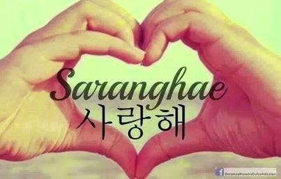 Mundo K Pop O Que Significa Saranghae E Oppa