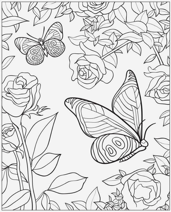 BUTTERFLY COLORING PAGE FOR OUR HOMELESS CHILDREN
