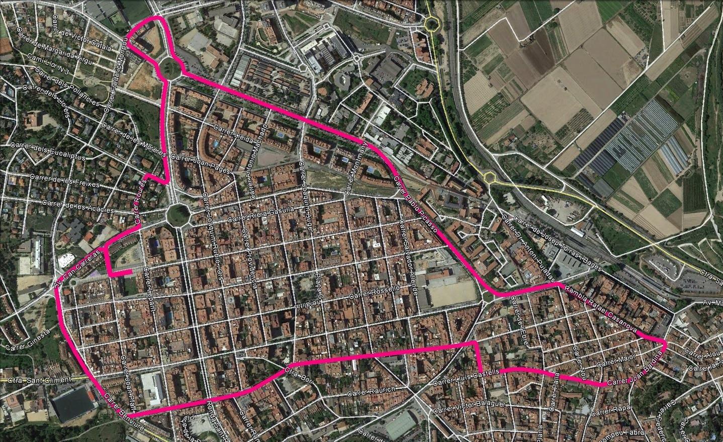 Circuit urbà de 5 quilòmetres, assequible per a tothom!