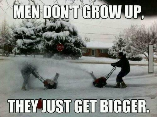 "MEN DON""T GROW UP .."