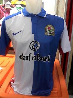 gambar detail jersey terbaru musim depan Jersey Blackburn Rovers home terbaru musim 2015/2016 di enkosa sport toko online pakaian olahraga terlengkap di jakarta