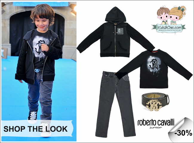 Roberto Cavalli boys clothing from Autumn/Winter 2014-2015 collection with 30% discount at www.kidsandchic.com