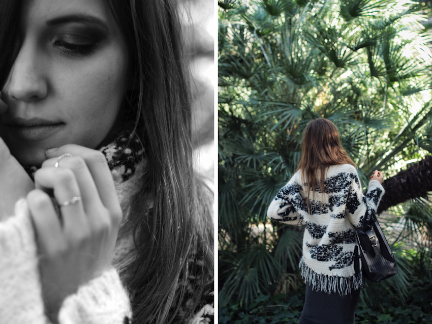Fringed Sweater fashion blogger milan