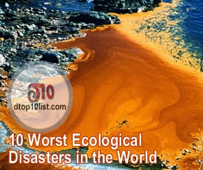 Top 10 Worst Ecological Disasters in the World