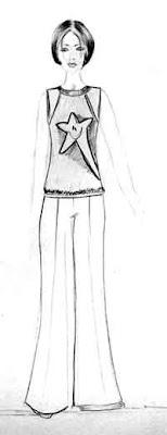 A Desenhar Roupas de princesa     colorir