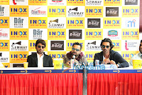 Irrfan, Nikhil & Arjun Rampal @ 'D-Day' press conference in Pune