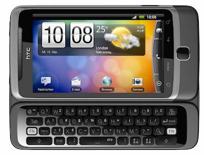 HTC desire in India
