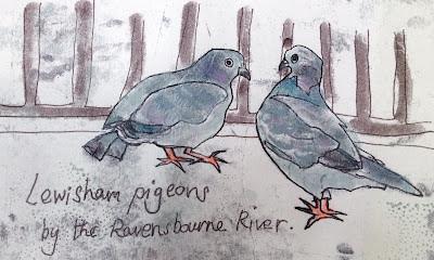 Lewisham pigeons