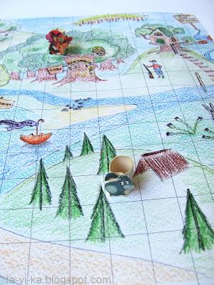 настольная игра Путешествие Винни-Пуха
