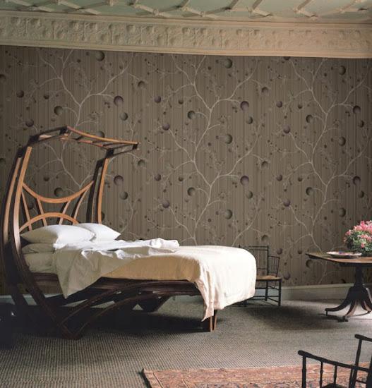 Không gian đẹp nhờ giấy dán tường 11